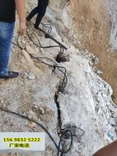 地基开挖碰到花岗岩用什么破碎速度快湖南益阳图片