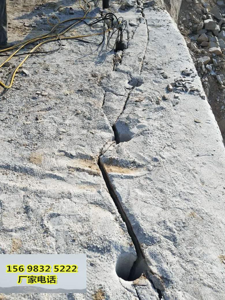 銀川采石場不能放炮破堅硬石頭怎么辦一優點、缺點