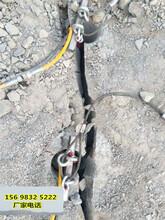 广州施工破石头用什么机器可以降低成本快速破碎硬石头图片