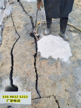 潜江不用放炮采石破石机器高产量一24小时热线图片