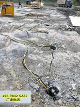 張家口地基開挖破碎堅硬石頭打石頭設備一優質推薦圖片
