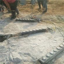 安徽池州地基岩石破碎开挖劈裂机效率高吗图片