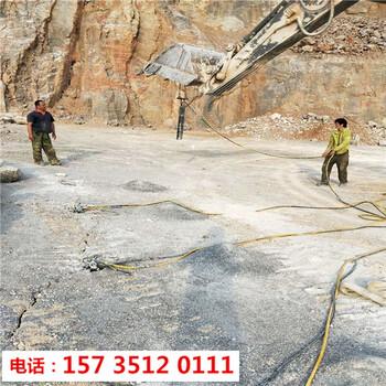 阿勒泰土石方硬石头破碎静态裂石机-客户评价