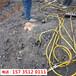 麻城市鐵礦開采搗機打不動太硬用破裂機-開石機器