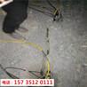貴州黔南巖石拆除液壓靜態破石機-一臺多少錢