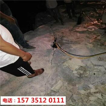 锡林郭勒矿山开采石头太硬用破石机-多少钱一套