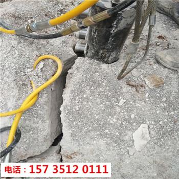 明光市矿山开采静态撑石机-裂石机器