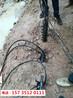 广西玉林碰到岩石硬度大液压开石机-案例回顾