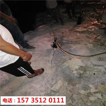 徐州采石場開石頭不用炸藥的開采方法-降低成本