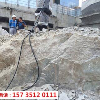 奉节顶管岩石破碎用液压破裂机-胀石头机图片2