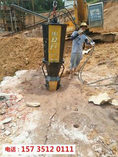 奉节顶管岩石破碎用液压破裂机-胀石头机图片3
