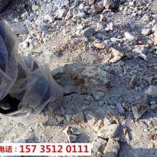 奉节顶管岩石破碎用液压破裂机-胀石头机图片4