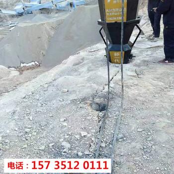 凱里市硬石頭破碎錘打不動破石機-8小時產量