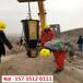 中卫矿山开采石灰石太硬用液压破石机-代替炸药