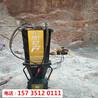 南充市挖地基破石頭設備液壓裂石機-產量穩定