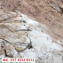 江苏江都矿场开采岩石静态液压机器-配件价格图片
