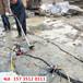 新疆博乐无声静爆开裂岩石机械混凝土劈裂器-什么原理