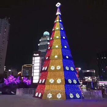 大型圣诞树生产定制活动火热订购