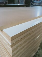 刨花板贴面板免漆颗粒板生态板厂家图片