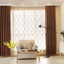 家庭布艺窗帘杆安装免费上门图片