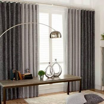 布艺窗帘沙帘卧室窗帘客厅窗帘