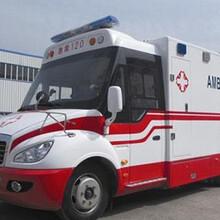 昌宁私人长途救护车出租图片