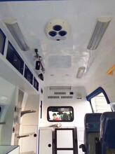 花垣跨省长途救护车出租图片