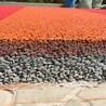 透水混凝土胶凝剂生产厂家、彩色透水地坪专业施工