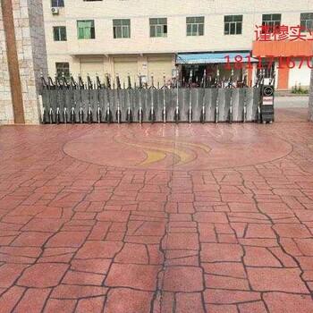 广州仿木纹地坪、彩色压花地坪承接工程施工、包工包料价格可谈