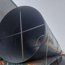 大口径防腐焊接螺旋钢管实体厂家图片
