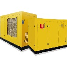 河南焦作37kw双级压缩永磁变频螺杆空压机(7立方8公斤)节能、静音空压机图片