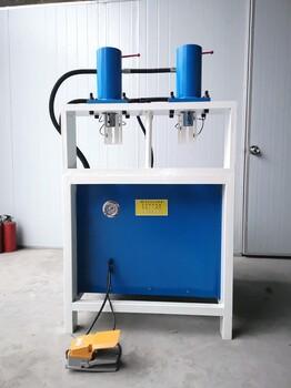 自動打孔機自動沖孔機不銹鋼防盜網沖孔機液壓沖床快速打孔機方管角鐵切角機模具