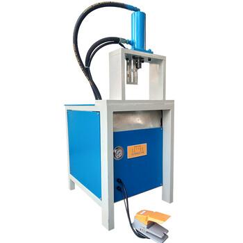 鋁合金型材加工機械不銹鋼防盜網沖孔機槽鋼角鐵快速打孔切斷設備沖剪機切管機