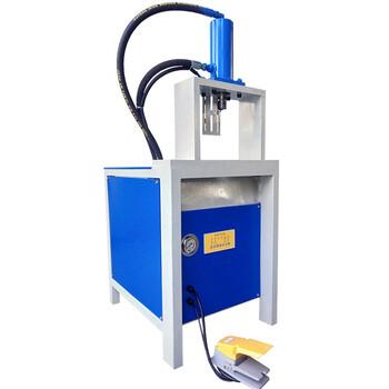 不銹鋼防盜網高速液壓沖孔機電動手動模具液壓沖床槽鋼角鐵切斷機方管圓管沖弧口