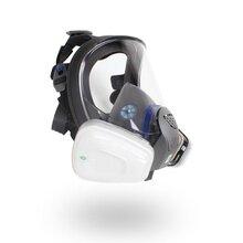 3M硅膠全面罩防毒面具報價FF402雙罐舒適型圖片