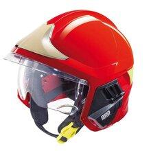 MSA梅思安F1消防头盔厂家绝缘阻燃耐高温图片