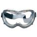 梅思安MSA防雾防刮擦护目镜可调节透明防护眼罩