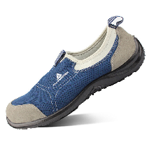 代爾塔301216防砸防刺穿安全鞋藍色輕便勞保鞋圖片