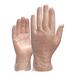 代尔塔201371一次性防护手套透明PVC塑料手套