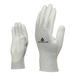 代尔塔201790纤维防静电手套PU涂层涤纶针织手套
