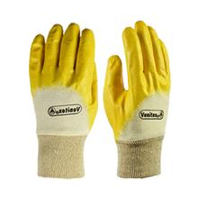 代尔塔201015轻型丁腈手套涤纶针织防护手套图片