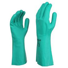代尔塔201802橡胶防化手套耐磨防滑丁腈手套图片