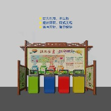 汕頭垃圾分類亭宣傳欄生產廠家公園社區垃圾投放點垃圾分類屋圖片