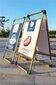 提手海报架广告牌展示牌铝合金防疫展架立式落地式展板宣传展示架图片
