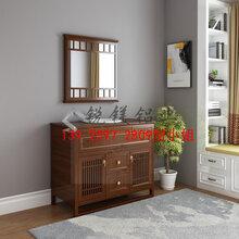 佛山全铝家居铝材铝合金浴室柜全铝浴室柜型材厂家批发图片