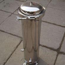 洛阳5芯20英寸抱箍式不锈钢精密过滤器保安过滤器供应商图片