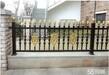 河东区别墅铝艺大门安装,铝艺护栏价格