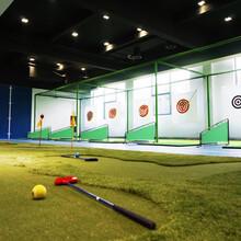 北京高尔夫球馆装修公司高尔夫球馆设计图片