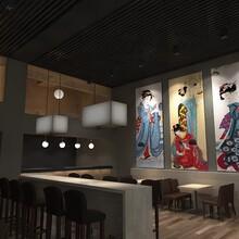 燕郊寿司店装修公司寿司店设计图片