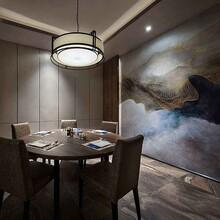 探究大渔铁板烧室内空间设计图片